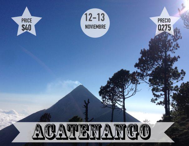 Acatenango 12 y 13 Nov.